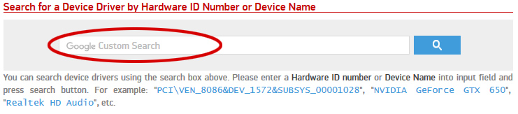 Copy Hardware ID into Site search box